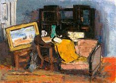 Alexandru Ciucurencu ( 27 septembrie 1903, Tulcea - 27 decembrie 1977, Bucureşti), pictor român (Romanian painter) Post Impressionism, Impressionist, Frasier Crane, Bucharest, Romania, Still Life, Culture, Image, Studios