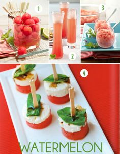 Summer Entertaining -- Five Crowd-Pleasing Watermelon Recipes