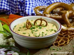 The traditional recipe for an Oktoberfest favorite. Obazda ~ Bavarian Soft Cheese Dip is outrageously delicious and simple to make. Spreadable Cheese, Popular Appetizers, Game Day Snacks, Caraway Seeds, Beer Cheese, Fresh Chives, Fresh Vegetables, Cheeseburger Chowder, Dips