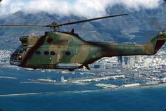 SAAF Puma Military Helicopter, Military Aircraft, Fighter Aircraft, Fighter Jets, Airbus Helicopters, South African Air Force, F14 Tomcat, Army Day, Playground Design