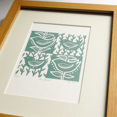 This week we're talking to Amanda Colville from Folksy shop Mangle Prints Could you describe your shop? I create small edition Lino prints using a mangle as a press. All the prints are hand printed, so the Linocut Prints, Art Prints, Block Prints, Lino Art, Smart Art, Art Lessons Elementary, Woodblock Print, Printmaking, Screen Printing