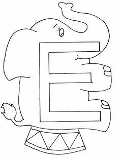 Alphabet Letter Y Coloring Page