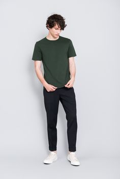 Mens Minimalist Fashion - My Minimalist Living Summer Outfits Men, Stylish Mens Outfits, Casual Outfits, Men Casual, Smart Casual Outfit, Stylish Clothes, Outfit Hombre Casual, Look Man, Minimal Outfit