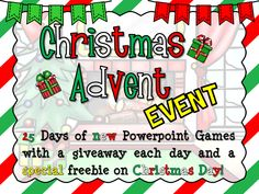 25 Days of Powerpoint Games!