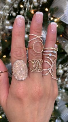 Will you see some Rose Gold Sparkle below your 🎄 this 12 months? Free Transport + Wrapping 🎁 / Gold / Silver Pinecone Round Moissanite and Diamond RingRose Gold Rose Ring Pink Gold Size And Diamond Rings, Diamond Jewelry, Gold Jewelry, Jewelry Box, Jewelry Accessories, Jewelry Design, Pandora Jewelry, Jewelry Bracelets, Prom Jewelry