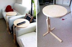 Convert The IKEA FROSTA Into Perfect Laptop Desk