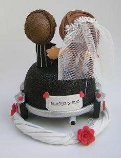 ARTESANIA DEL BORDADO TRABAJOS DE GOMA EVA FOFUCHAS Fondant Figures Tutorial, Ideas Para Fiestas, Dolls, Cake, Wedding, Pictures, Wedding Favor Crafts, Gifts, Harry Potter Cakes