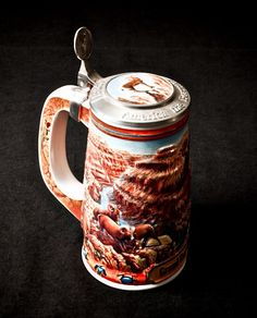 Budweiser Beer Steins | Budweiser Beer Stein Grand Canyon by RenesansCottage on Etsy