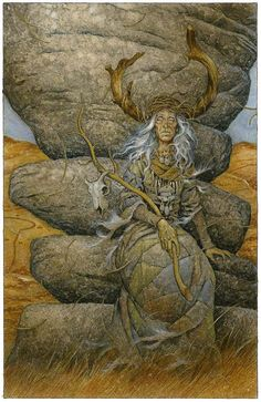 Print. High Tor Guardian. by davidwyatt on Etsy
