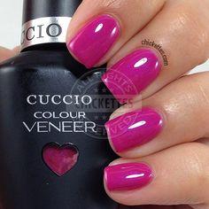 Cuccio Colour Veneer - Pink Cadillac - swatch by Chickettes.com