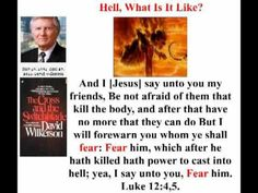 Hell (the most hated truth today) What is it Like? by David Wilkerson (42.37 minutes)