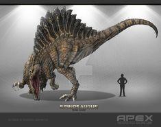 Spinosaurus by Herschel-Hoffmeyer