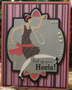 Art Deco cartridge - kick up your heels