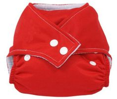 Gaorui Reusable Adjustable Baby Diapers Urine Pants Red Features: Color: green,blue,yellow,green,orange,pink Size: Adjustable design is fit for different sizes  Outer Layer Material: pul  Inner Layer Material: polyester. Material: soft linter / terylene + elastic waterproof PU film; Wash Temperature: under 30 Celsius degree(less than 86 Fahrenheit)  Fit baby weight from 3 kg to 13 kg (approximatel... #Gaorui #BabyProduct