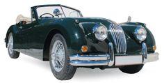Jaguar XK 140 cabriolet 1955