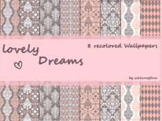 Lovely Dreams Wallpaper by schlumpfina