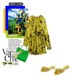 """Rio chic"" by theitalianglam ❤ liked on Polyvore featuring Anja, Salvatore Ferragamo, Giambattista Valli, Dolce&Gabbana, Chanel, Italia Independent, women's clothing, women's fashion, women and female"