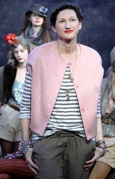 love the vest/jacket - Jenna Lyons Look Book - The Cut