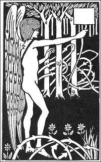 Coleccionista de Imagenes: Aubrey Beardsley, ilustraciones para Le Morte d'Arthur (II)