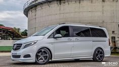 Hartmann body kit Mercedes V Class 447 1 tuning photo Mercedes Benz Viano, Mercedes Benz Maybach, Mercedes Benz Cars, Audi Cars, T6 Bus, Van Design, Vanz, Honda Civic Type R, Mini Bus
