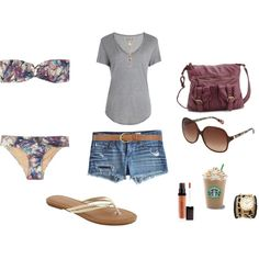 Summer Outfit by Brooke Johnson on Polyvore