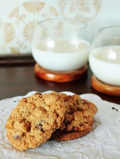 Whole wheat chocolate chip cookies - cut this recipe to about one-fifth.  Used all listed ingredients except added cranberries and pecans as well.