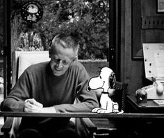 """The only thing I ever wanted to be was a cartoonist. That's my Life. DRAWING."" - Charles M. Schulz"