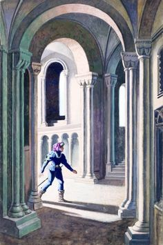Prince heads for tower - Sleeping Beauty - Eric Winter - Ladybird Book
