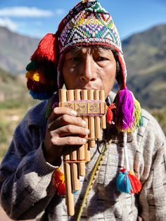 Cultures Du Monde, World Cultures, We Are The World, People Around The World, Andes Peru, Peruvian People, Pan Flute, Inca Empire, Hispanic Heritage