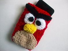 Angry Bird Cozy Free Pattern