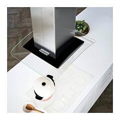 IKEA - OBEROENDE, Hotte aspirante, plafond, Garantie 5 ans gratuite. Renseignements complets dans notre livret de garantie.Installation en évacuation extérieure ou en recyclage avec filtre à charbon.Le filtre à graisse compris est amovible et facile à laver.Deux ampoules halogènes comprises qui procurent un éclairage adéquat pour faire la cuisine.