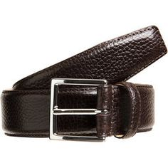 Givted- #grained #leather #belt