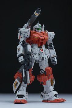 "Custom Build: HGUC 1/144 Powered GM ""Detailed"" - Gundam Kits Collection News and Reviews"