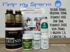 Pimp my sperm: Wie du Menge und Qualität deiner Spermien verbessern kannst  #IVF #KünstlicheBefruchtung #Schwangerwerden