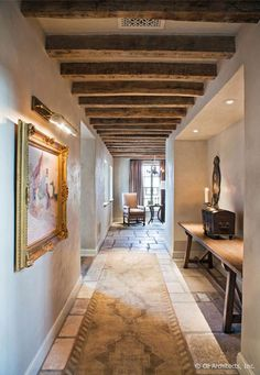 """Rustic Riche"" ART AFFINITY:  Hillside French estate in Arizona"