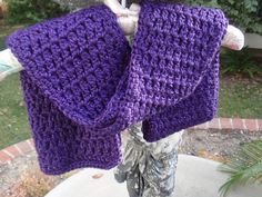 Viola Scarf by LUncinetto on Etsy