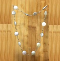 12mm White Coin Natural Mother Pearl Shell  925 Silver Necklace Or Choker, Healing Chakra Protection Yoga Zodiac Cancer Gemini Necklace by ArtGemStones on Etsy
