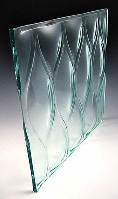 装飾ガラス/フリーフォーム「ティアドロップグランデ」