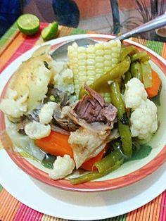 Cocido de Res y verduras.