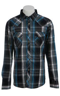 Wrangler Mens LS Snap Western Shirt MVG047M