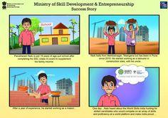 Pillars, Ministry of Skill Development And Entrepreneurship, Success story , PMKVY, DGE&T