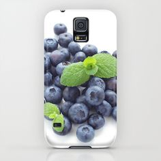 Society6   Yumehanaデザインファインアート写真によるブルーベリーiPhone&iPodのケース