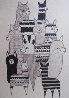 Alpacas ~ Kate Sutton   @Jo Paylor-Sykes & @Lauren Rose
