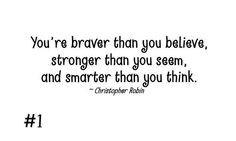 stronger, smarter, brave