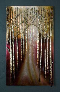 Large Iron Forest Metal Wall Art / Display / Hanging | eBay