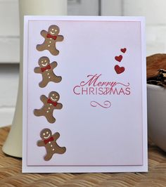 Inky Fingers: Silhouette Cameo Christmas cards