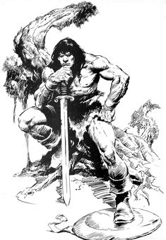 Conan the Barbarian pin upBONA.jpg (1111×1600)