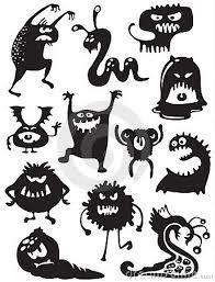 Image result for monster silhouette