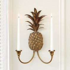 Pineapple Candle Sconce