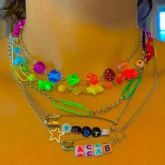 Funky Jewelry, Cute Jewelry, Jewelry Crafts, Jewlery, Estilo Indie, Mode Indie, Photographie Indie, Diy Accessoires, Indie Girl